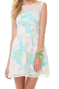 Lilly Pulitzer Morrison Overlay Lace Dress 68570
